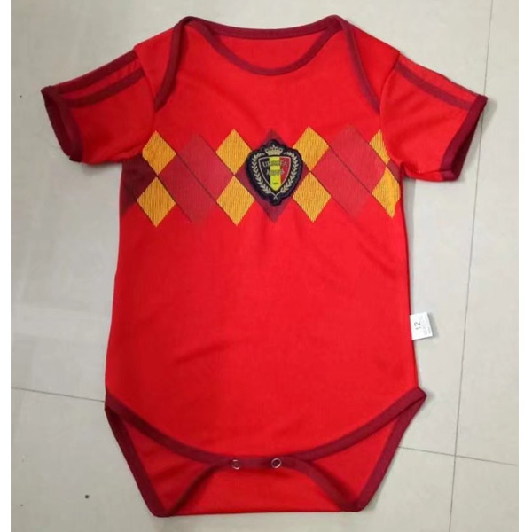 Belgium 2018 World Cup Home Infant Shirt Soccer Jersey Little Kids