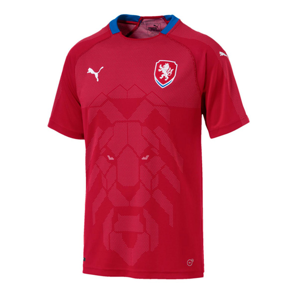Czech Republic 2018 World Cup Home Shirt Soccer Jersey