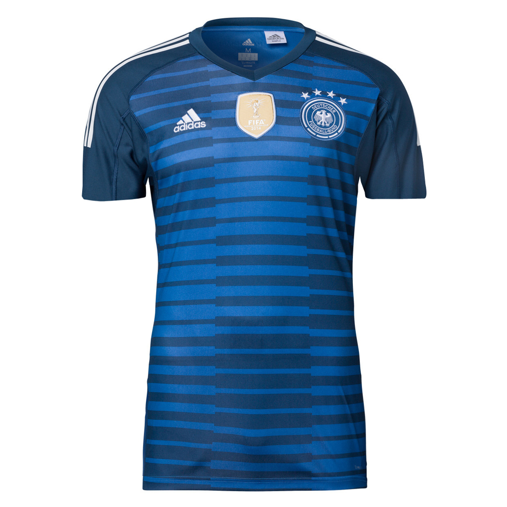 Germany 2018 FIFA World Cup Goalkeeper Blue Shirt Soccer Jersey