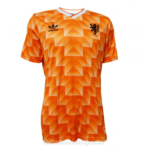Netherlands 1988 Home Retro Shirt Soccer Jersey