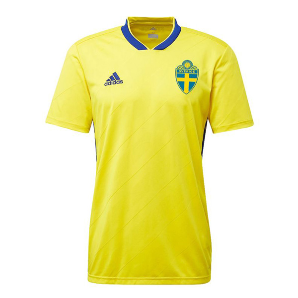 Sweden 2018 World Cup Home Shirt Soccer Shirt